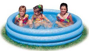 Intex Inflatable Crystal Blue Swimming Pool (45in X 10in) at Sears.com