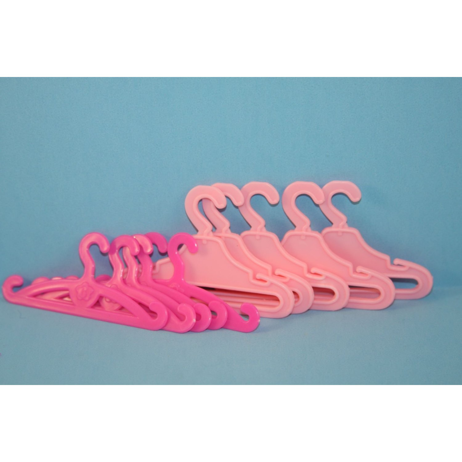 Olivia's Doll Closet 12 Pack of Doll Clothing Hangers Made to Fit the
