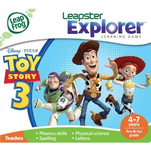 LeapFrog Explorer Learning Game: Disney-Pixar Toy Story 3 (works with LeapPad & Leapster Explorer) at Sears.com