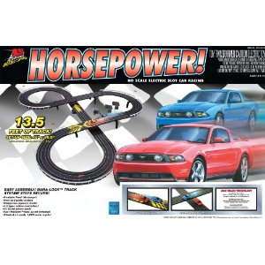 Life Like Life-Like Horse Power Mustang Electric Slot Car Race Set at Sears.com