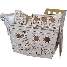 Box Creations Pirate Ship - Markers Included at Sears.com