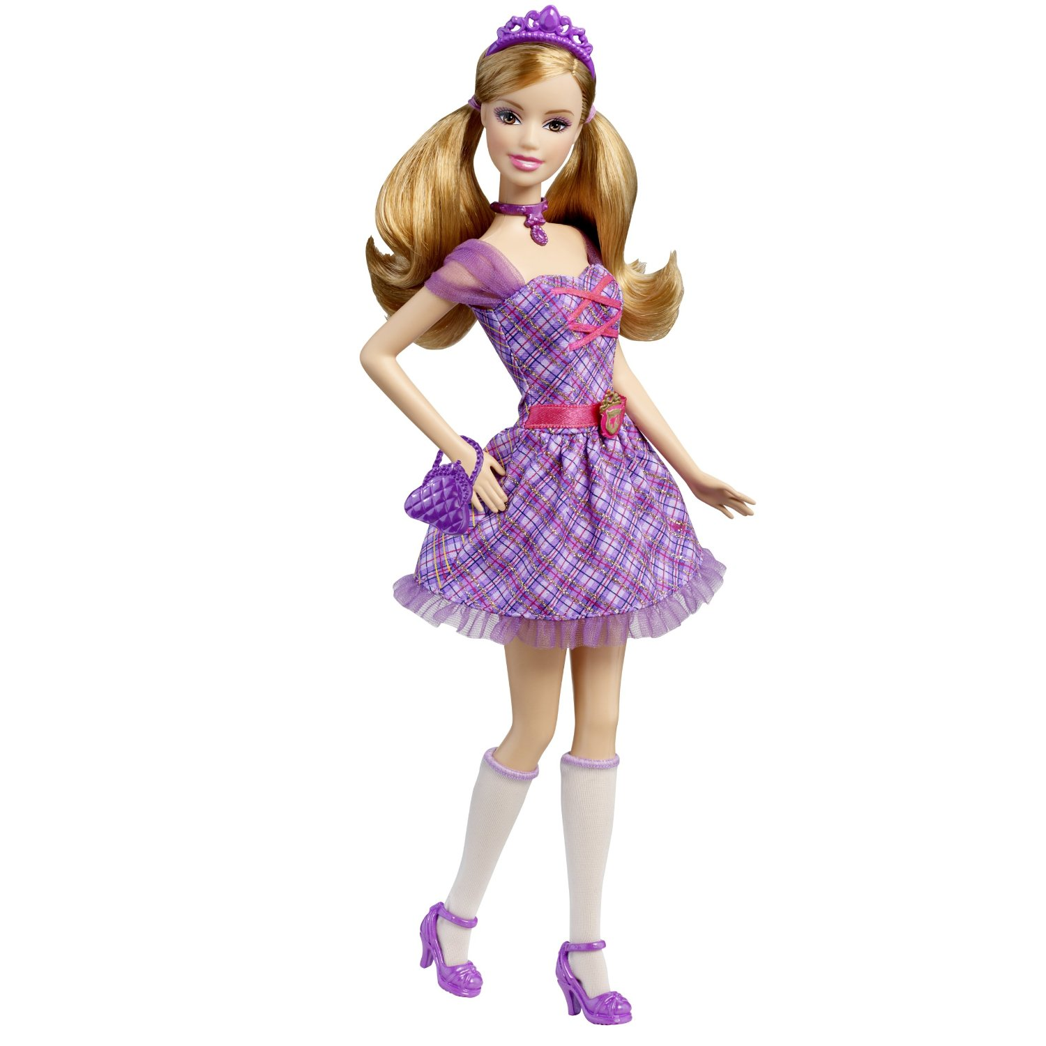 Mattel Barbie Princess Charm School: School Girl Princess Delancy Doll at Sears.com